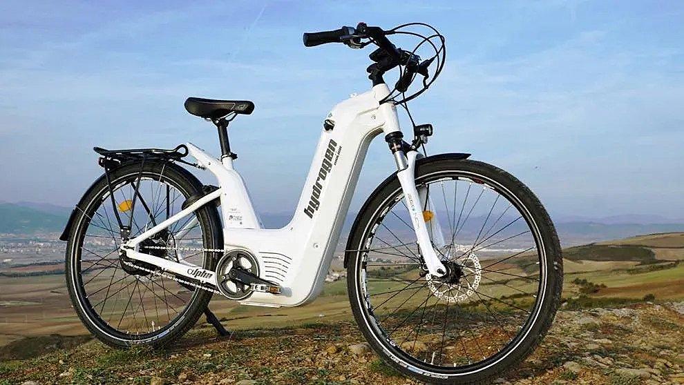 Así es Alpha, la bicicleta de hidrógeno
